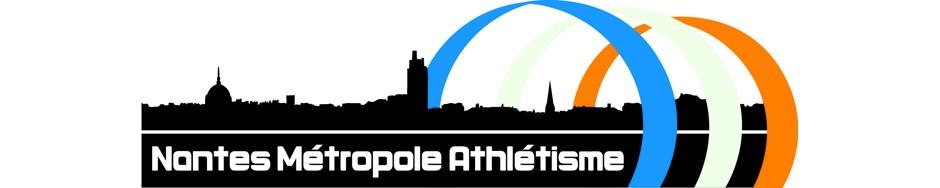 Nantes Métropole Athlétisme - le logo
