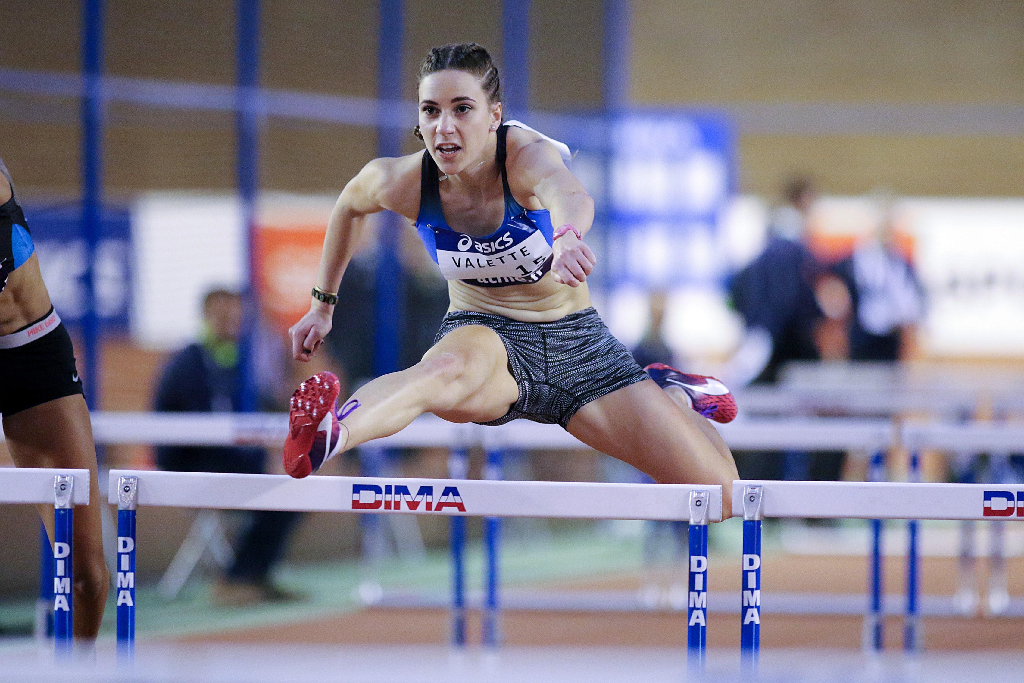 Laura Valette en stage national à Marseille