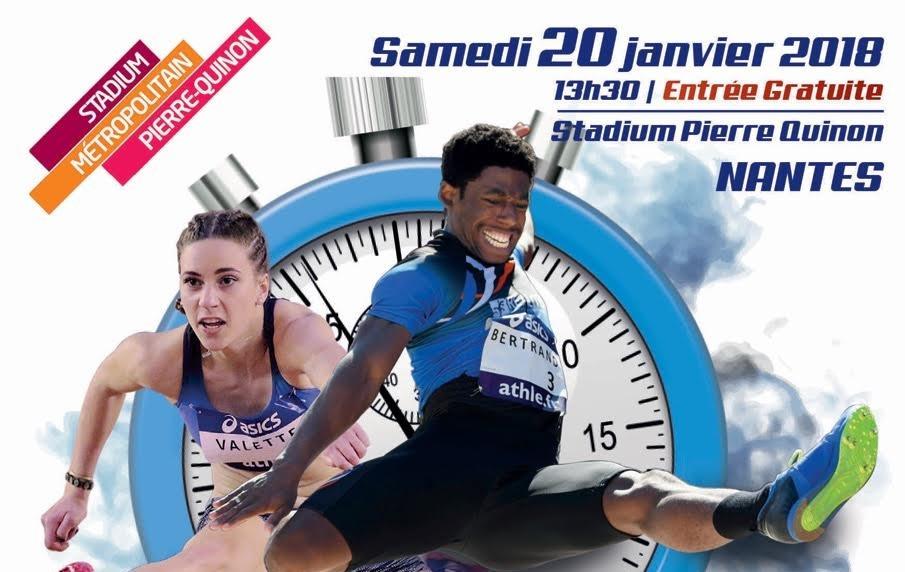 Le programme bénévole pour le Meeting Nantes Métropole Indoor 2018 ouvert !