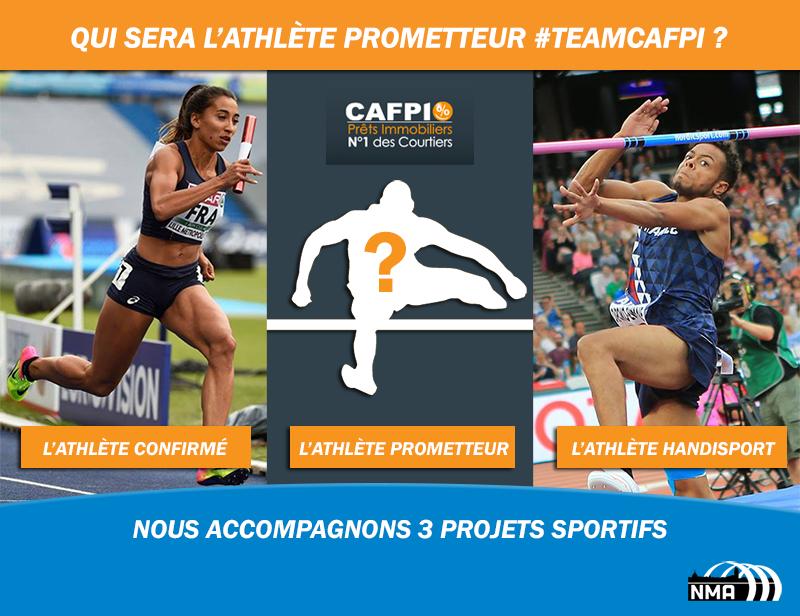 CAFPI soutient les athlètes de haut niveau du NMA