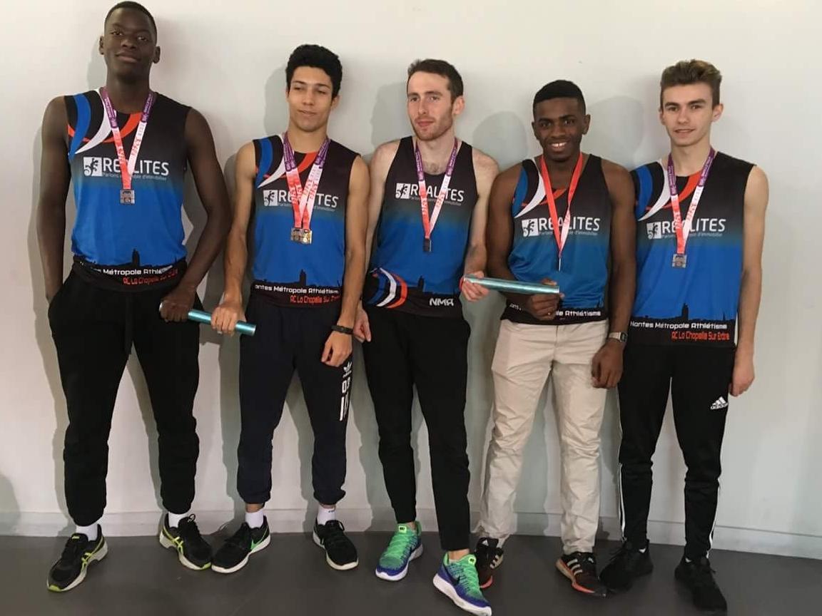 Championnats de France cadets-juniors en salle : Les relayeurs gardent leurs bonnes habitudes