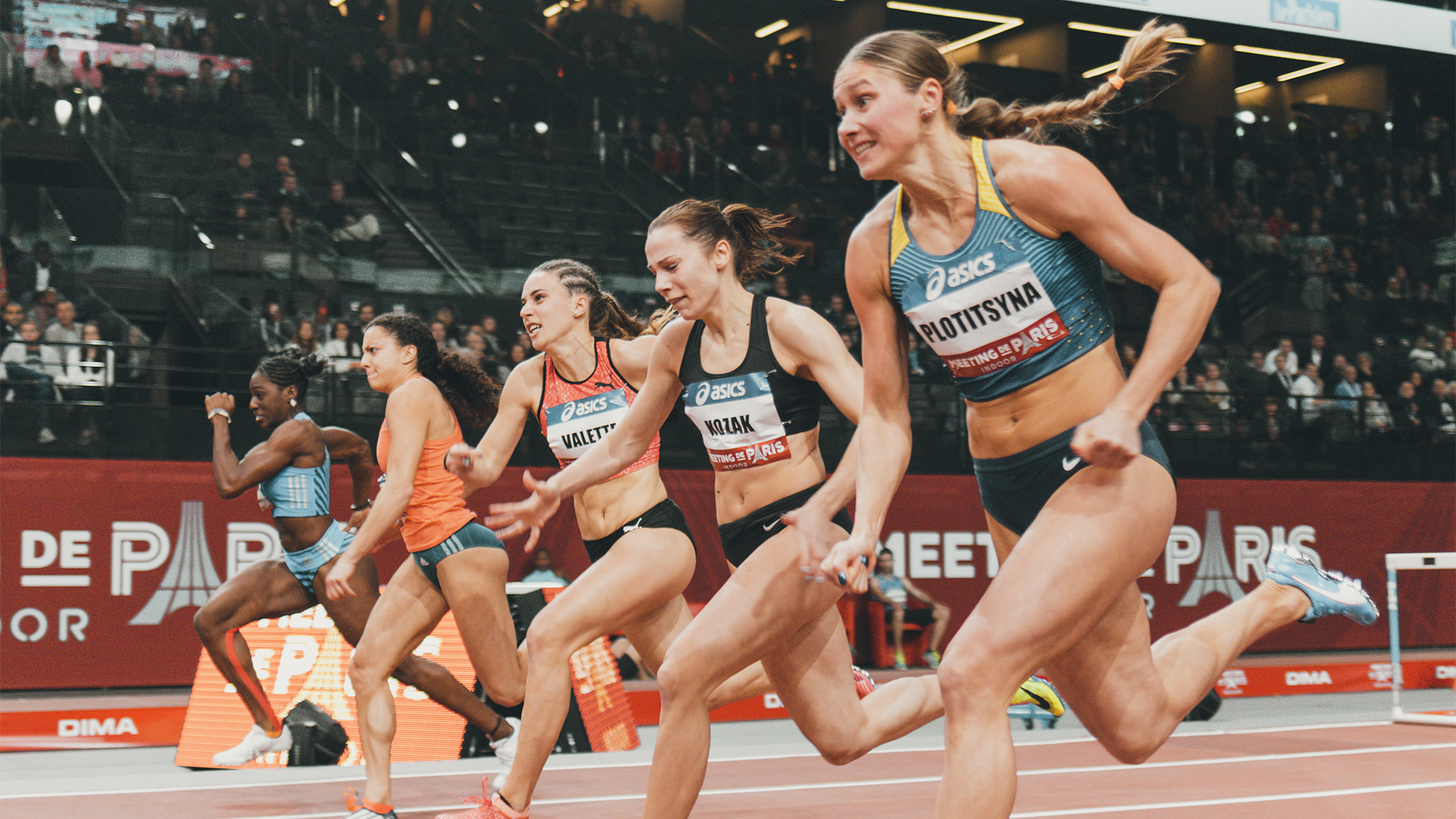 Meeting de Paris Indoor : L'athlétisme et la fête