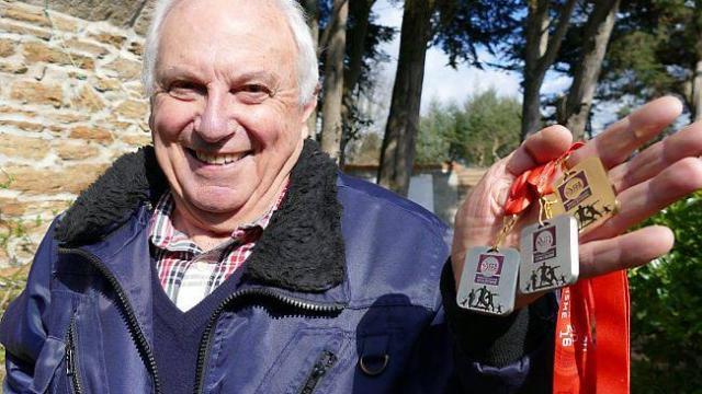Championnats d'Europe Master en salle : Trois podiums pour Jean Onillon