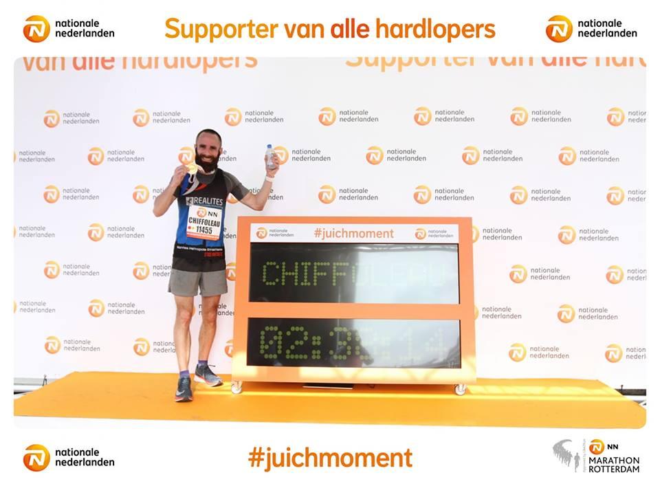 Marathon de Rotterdam : Romain Chiffoleau dans le top 100