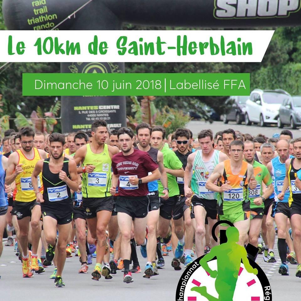 Tout ce qu'il faut savoir sur le 10 km de Saint-Herblain