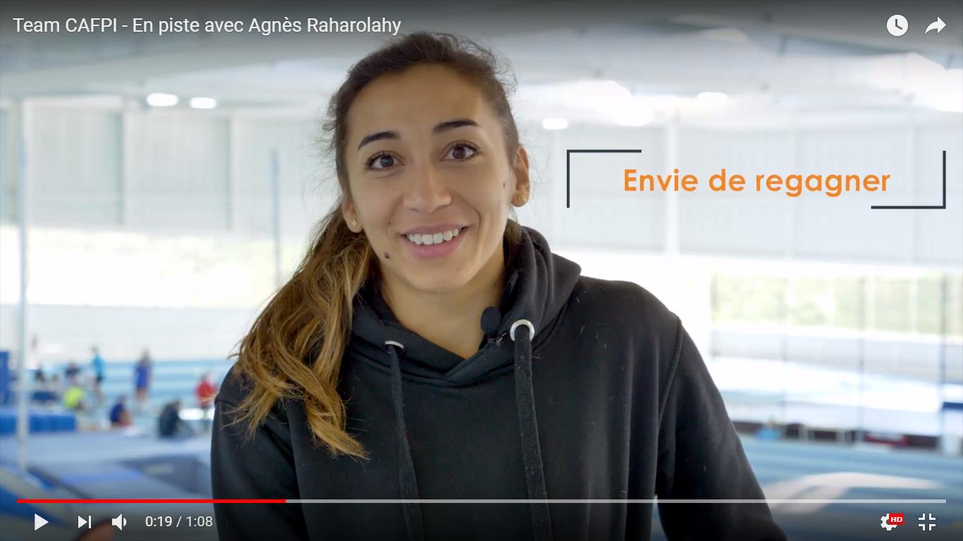 Team CAFPI : En piste avec Agnès Raharolahy