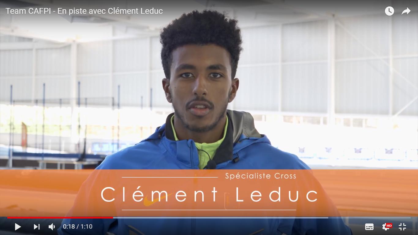 Team CAFPI : En piste avec Clément Leduc