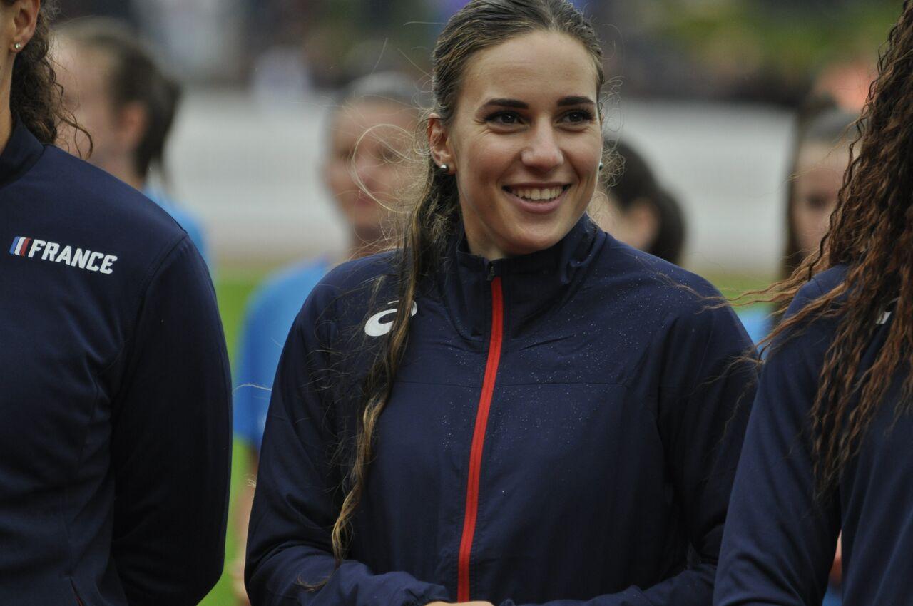 Championnats Méditerranéens -23 ans : Laura Valette en bleu