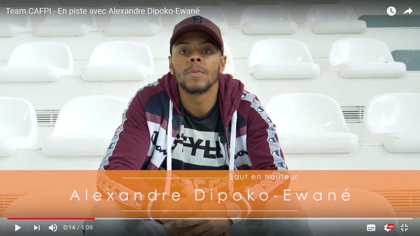Team CAFPI : En piste avec Alexandre Dipoko-Ewané