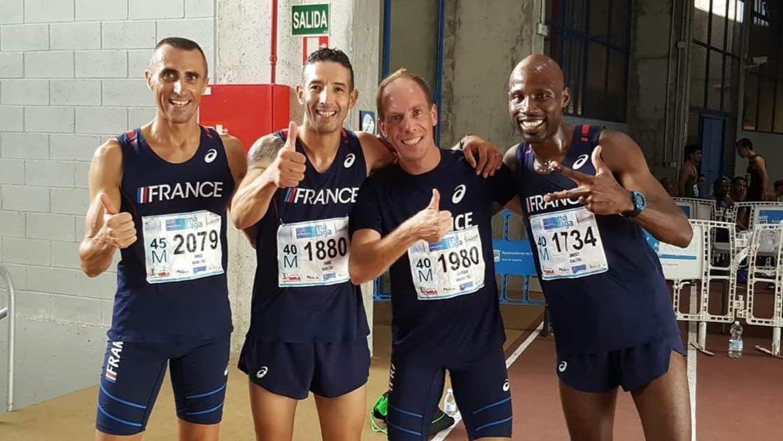 Championnats du monde Masters : Robert Moumetou et Mickaël Rincé en bronze
