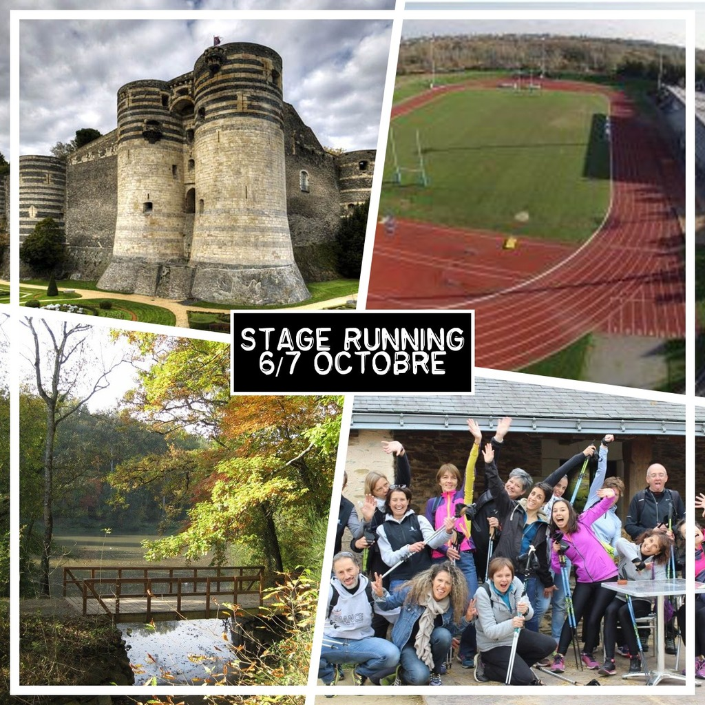 Inscrivez-vous au stage running/hors-stade à Angers !