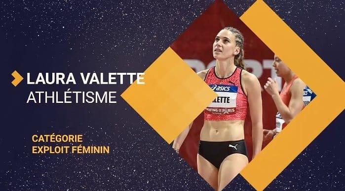 Trophées Sportifs : Laura Valette remporte le prix de l'exploit féminin