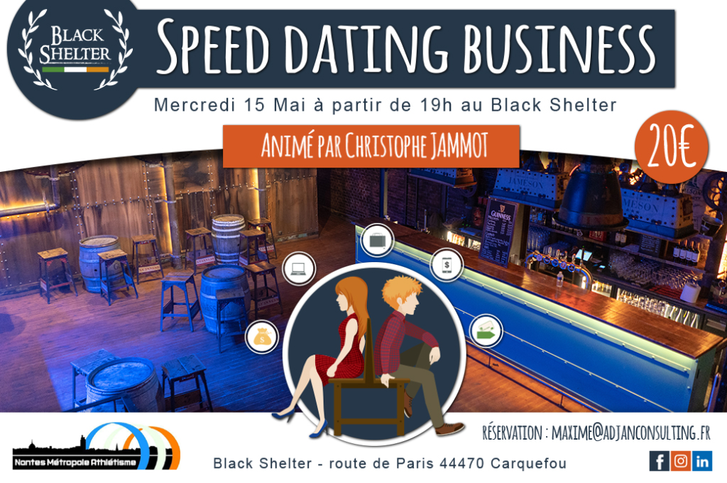Participez à la Soirée Speed Dating pro !