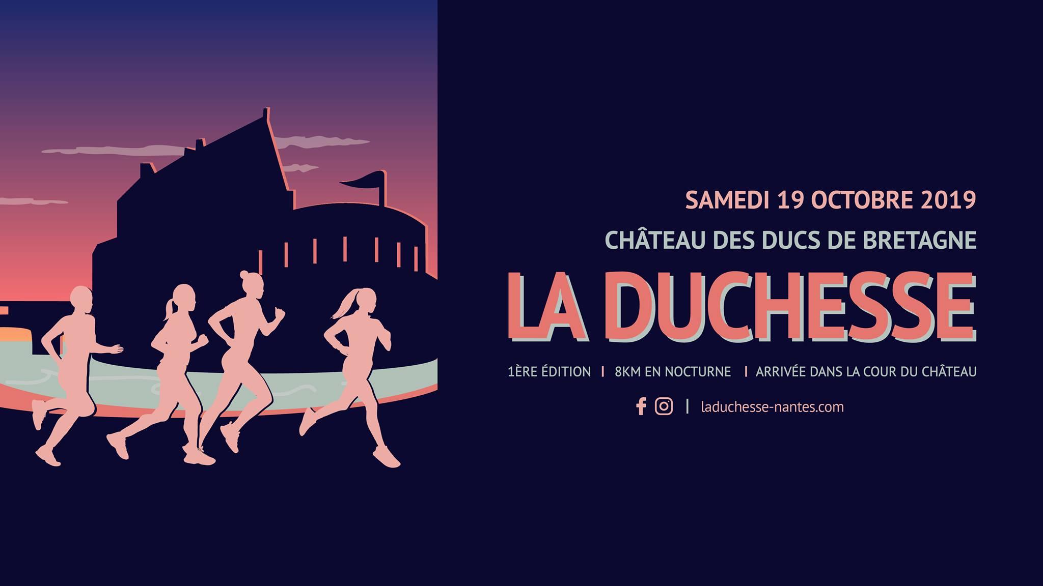 La Duchesse : Une course au Château des Ducs de Bretagne !