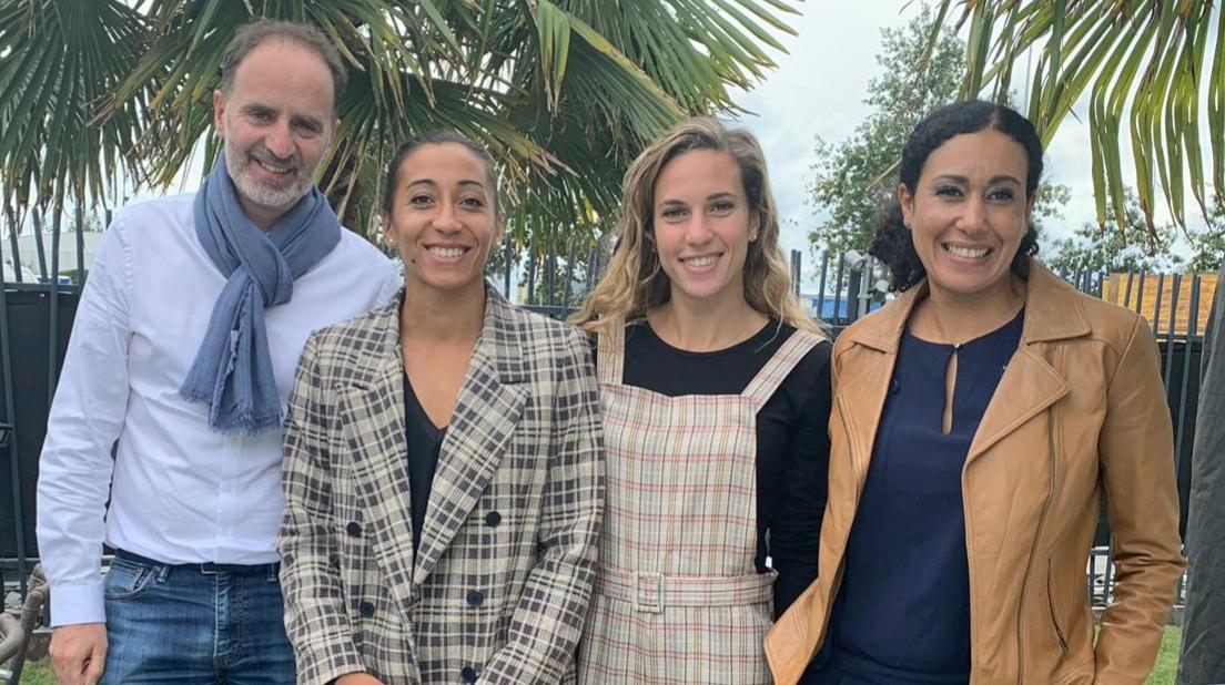 CAFPI encourage Agnès Raharolahy et Laura Valette à Doha