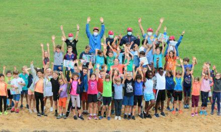Succès pour la Kinder Athletics Day !
