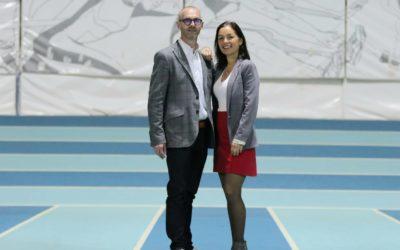 Officialisation de nos responsables de la commission partenaires Marine Canard et Sébastien Fromentin