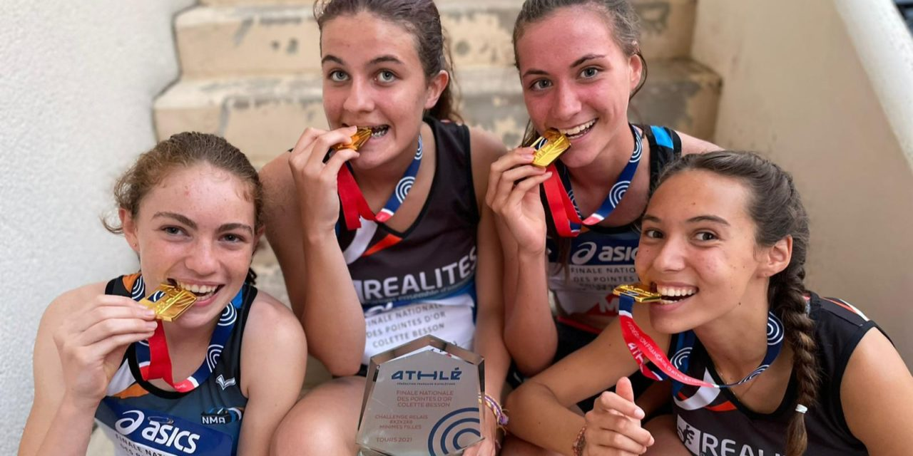 Résultats du week-end : Les minimes filles en or à Tours